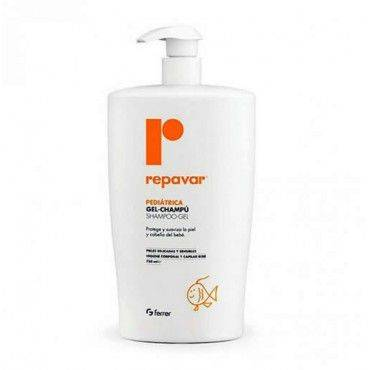 Repavar Pediátrica Gel Champú 750 Ml.