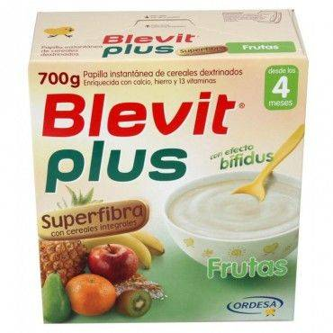 Blevit Plus Superfibra Frutas 600 Grs