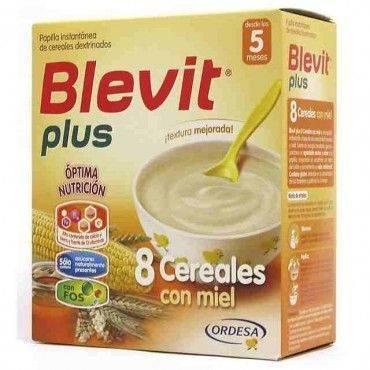 Blevit Plus  8 Cereales Miel 600 Grs