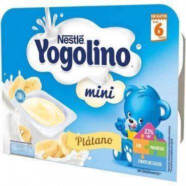 Nestlé banana de sobremesa...