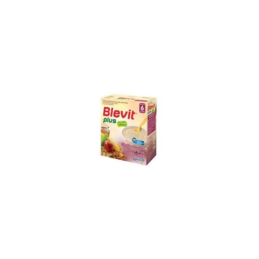 Blevit Plus Multicereales, Frutos Secos,Miel Y Frutas 600 Grs