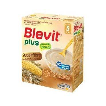Blevit Plus Super Fibra 8 Cereales 600 Grs