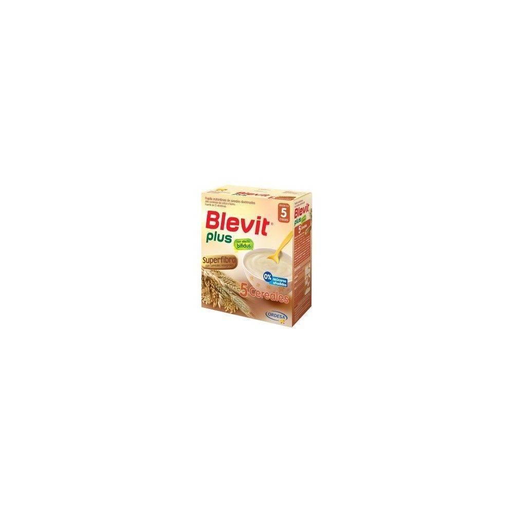 Blevit  5 Cereales Superfibra 600 Grs