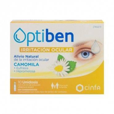 Optiben irritated eyes 10...