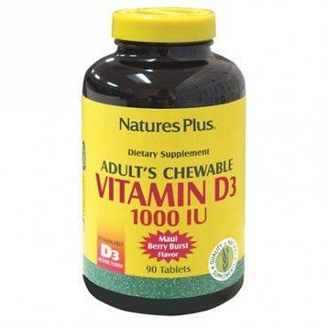 Natures Plus Vitamina D3 90...
