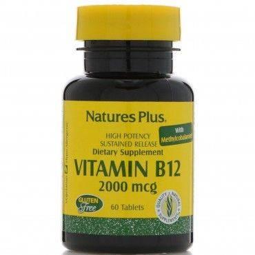 Naturezas Plus vitamina B12...