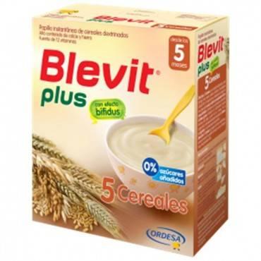 Blevit Plus 5 cereais 600 Grs
