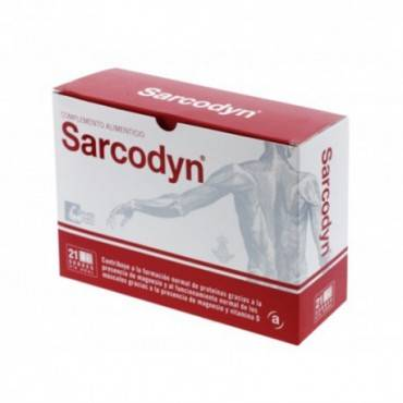 Sarcodyn Sabor Piña 21 Sobres