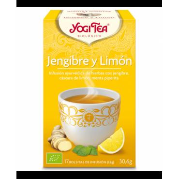 Yogi Tea ginger and lemon...