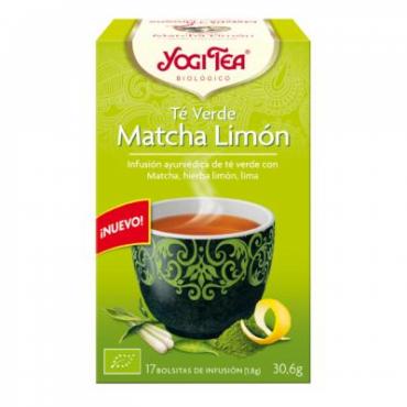 Yogi thé vert thé Matcha 17...