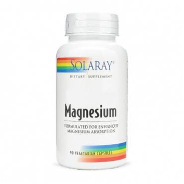 Solaray Magnesium 90 Capsulas