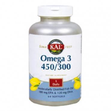 Solaray Kal Omega 3 60 Pearls