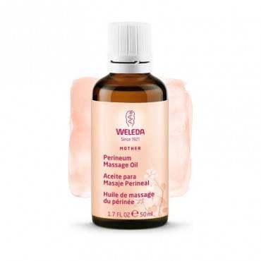 Massage périnéal à l'huile...