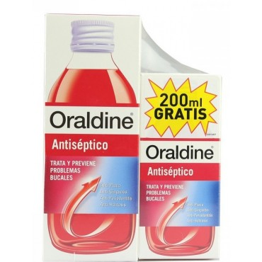 Oraldine clássico colutório...