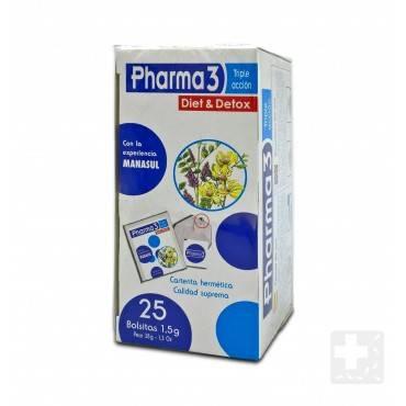 Pharma 3 Diet & Detox 25 bags