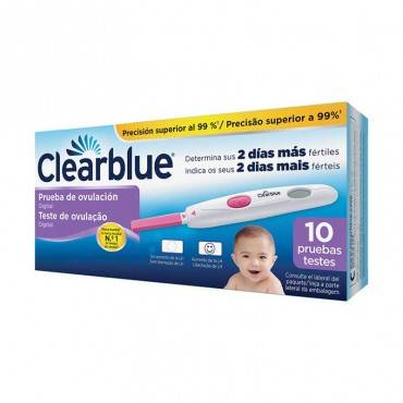 ClearBlue Test ovulation...