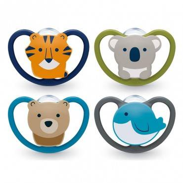 NUK Space Silicone Pacifier...