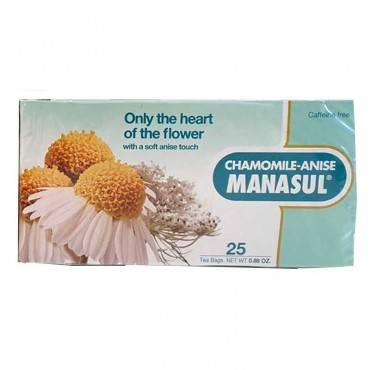 MANASUL Tea chamomile-anise...