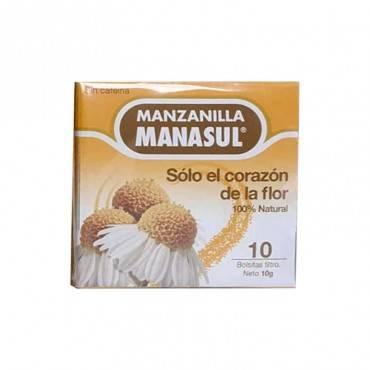 MANASUL Tea Chamomile 10 Sacs