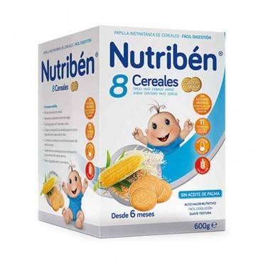 Nutriben 8 cereals amb...
