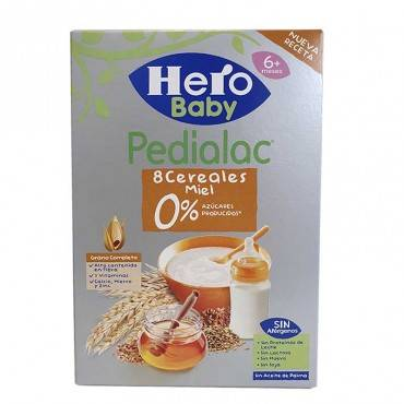Hero Pedialac 8 Céréales...
