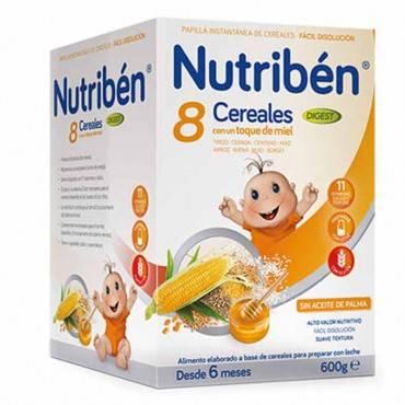 Nutriben 8 cereals i mel...