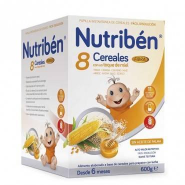Nutriben 8 céréales et miel...