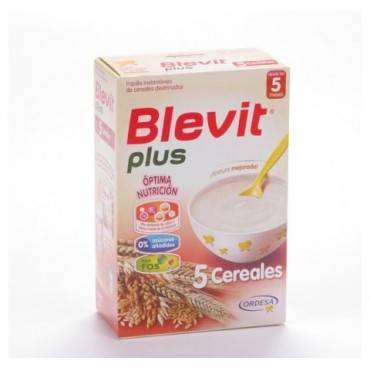 Blevit Plus 5 cereals 300 grs