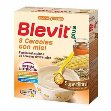 Blevit Plus 8 Cereals Honey...