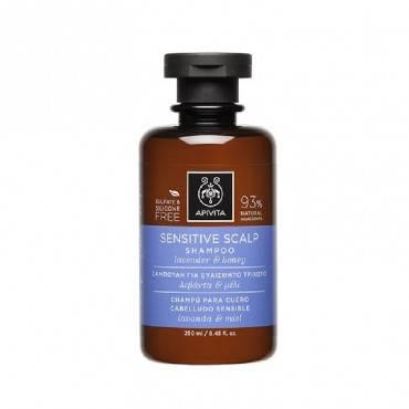 Apivita Shampoo Sensitive...