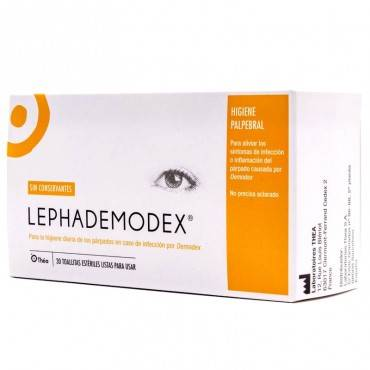 Thea LEPHADEMODEX 30 lingettes