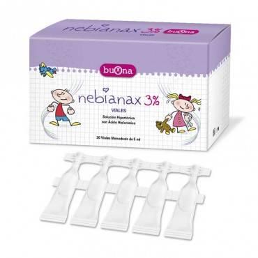 Nebianax limpieza nasal 3%...
