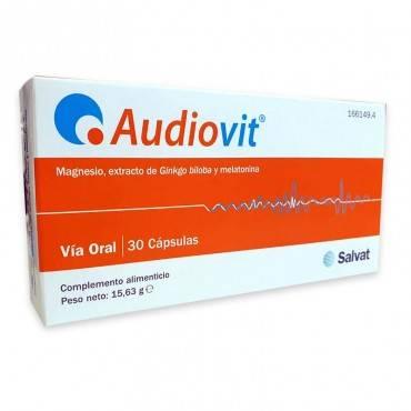 Salvat Audiovit 30 Capsulas