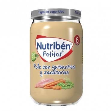 Nutribén Potito de pollo...