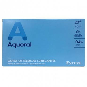Aquoral Eye Drops 0.5 Ml 20...