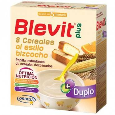 Blevit Plus 8 Cereals...