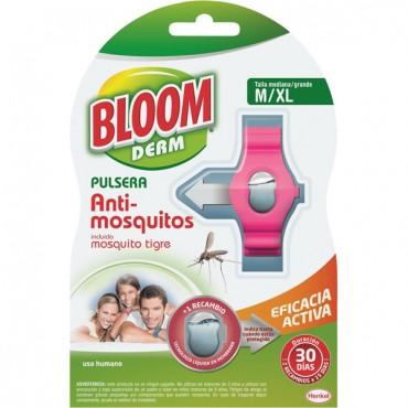 Bloom Pulsera Repelente Mosquitos Adulto