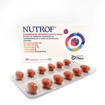 Nutrof 36 càpsules