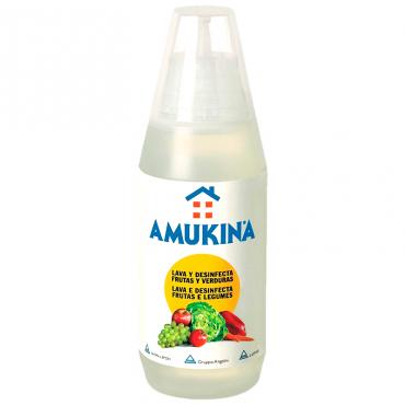 Amukina desinfecção frutas...