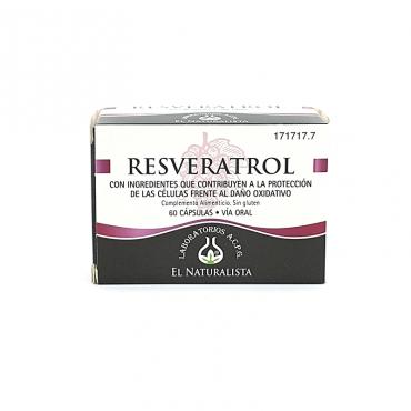 Resveratrol 60 cápsulas