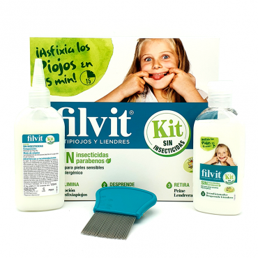 Filvit anti-piolhos kit...