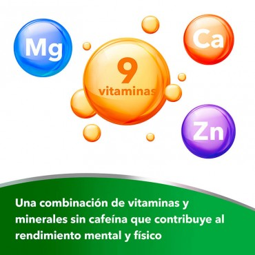 Berocca Performance comprimidos efervescentes sabor naranja ingredientes