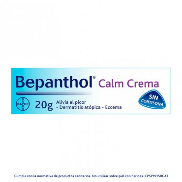 Bepanthol Calm Crema 20 mg envase