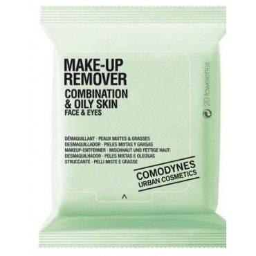 Comodynes Make-Up Remover Pieles Mixtas Y Grasas 20 Toallitas