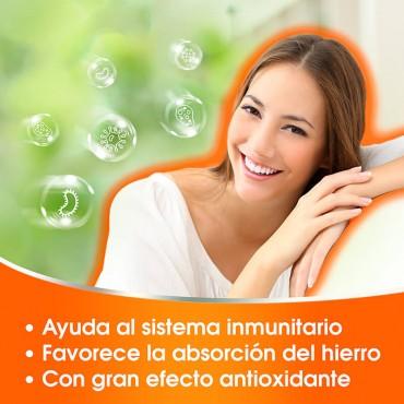 Redoxon Vitamina C Naranja beneficios