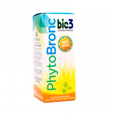 Bio3 Phytobronc Jarabe Niños