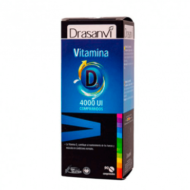 Drasanvi Vitamina D3 4000 UI 90 Comp.