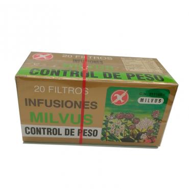 Milvus Control de Peso 1.2 gr 20 Filtros.