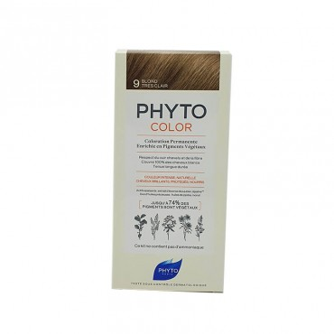 Phyto Farbe 9 Sehr hellblond