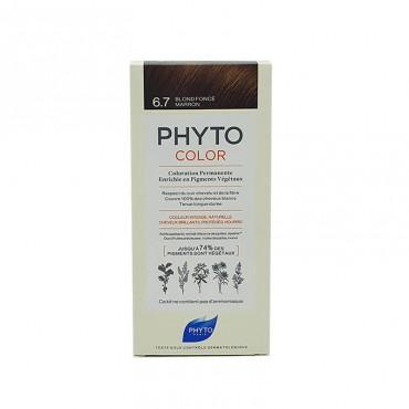 Phyto Color 6.8 Rubio Oscuro Marrón